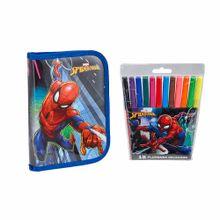 pack-artesco-spiderman-cartuchera-libro-plumones-paquete-12un