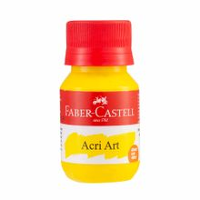 pintura-acrilica-faber-castell-amarillo-ambar-frasco-40ml