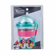vaso-de-yogurt-minnie-con-cucharita-450ml