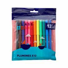 plumones-class-work-colores-paquete-12un