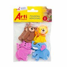 figuras-adhesivas-arti-creativo-la-jungla-paquete-8un