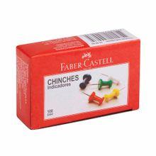 chinches-de-colores-faber-castell-caja-100un