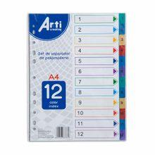 separador-arti-creativo-a4-pp-12-colores