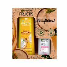 pack-fructis-shampoo-liso-coco-frasco-350ml-agua-micelar-frasco-100ml