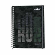 cuaderno-espiralado-andes-a4-black-tapa-dura-160-hojas