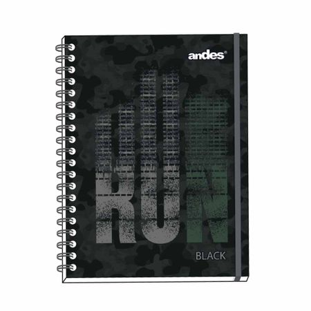 cuaderno-espiralado-andes-a4-run-black-tapa-dura-160-hojas