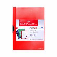 carpeta-faber-castell-cover-file-a4-con-clip-rojo