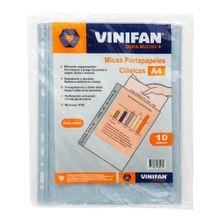 micas-portapapeles-vinifan-a4-clasicas-paquete-10un
