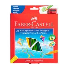 ecolapices-faber-castell-colores-caja-24un-tajador