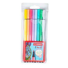 boligrafo-stabilo-8-pen-68-colores-pastel-blister-8un