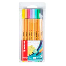 rotulador-stabilo-point-88-colores-pastel-blister-8un