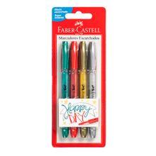marcadores-escarchados-faber-castell-happy-day-blister-4un
