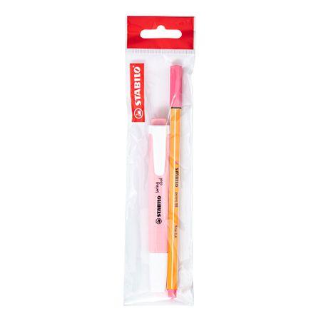 pack-stabilo-swing-88-rotulador-resaltador-rosa-pastel