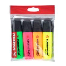 resaltador-stabilo-boss-original-colores-blister-4un