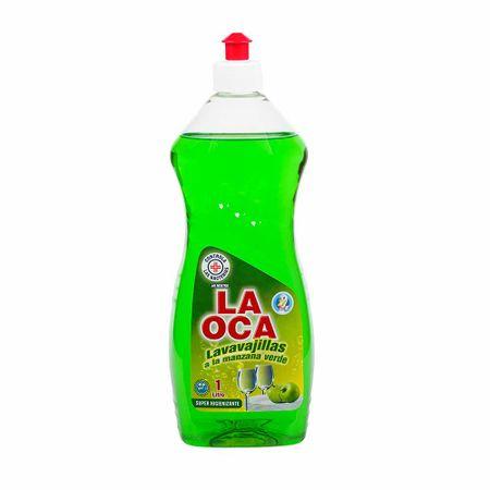 lavavajilla-liquido-la-oca-manzana-verde-botella-1l