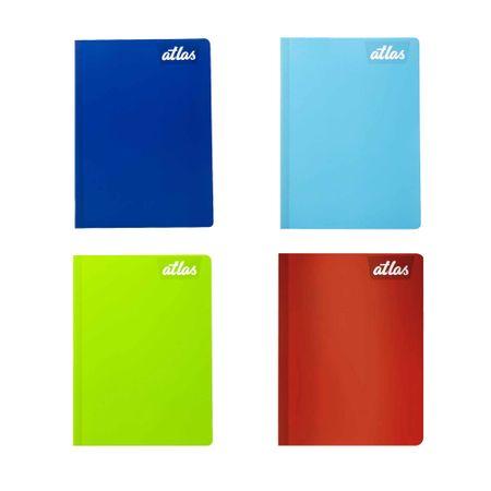 cuaderno-atlas-rojo-cuadriculado-88-hojas
