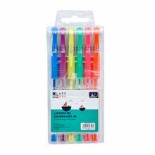 lapicero-gel-class-work-colores-estuche-6un