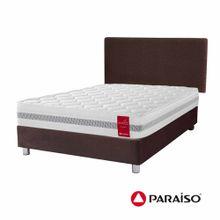 dormitorio-paraiso-medallon-chocolate-2-plazas-2-almohadas-protector