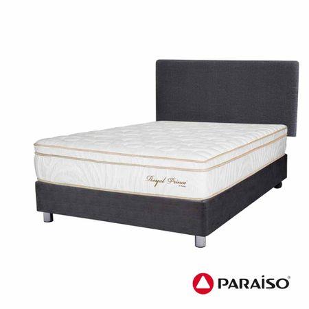 dormitorio-paraiso-royal-prince-acero-2-plazas-2-almohadas-viscoelasticas-protector
