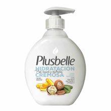 jabon-liquido-plusbelle-hidratacion-cremosa-frasco-400ml