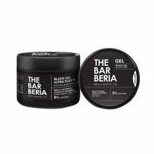 gel-para-cabello-the-barberia-ultra-fuerte-color-negro-pote-500ml