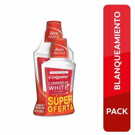 enjuague-bucal-colgate-luminous-white-botella-500ml-botella-250ml