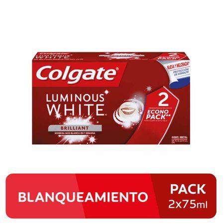 crema-dental-colgate-luminous-white-paquete-2un-tubo-75ml