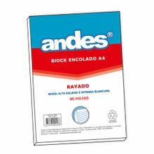 block-encolado-andes-a4-rayado-80-hojas