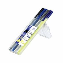 set-staedtler-resaltador-portamina-lapicero-azul-fineliner-negro-paquete-4un