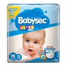 panales-para-bebe-babysec-ultra-sec-talla-m-paquete-72un