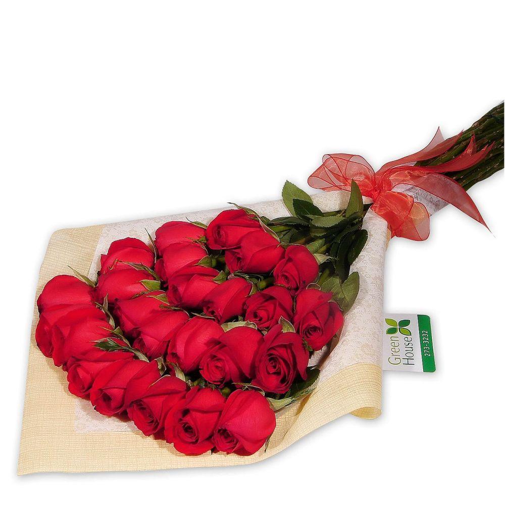 Ramo 24 Rosas Rojas Plazavea Supermercado