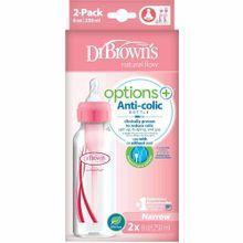 set-de-biberones-anti-colicos-dr-browns-opt-boca-estrecha-8oz-color-rosado-paquete-2un