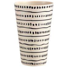 vaso-deco-home-melamina-punto-y-raya-coleccion-etniko