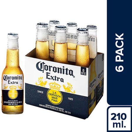 cerveza-coronita-6-pack-botella-207ml