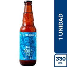cerveza-artesanal-barbarian-k7-doble-ipa-botella-330ml
