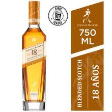 Whisky Johnnie Walker 18 Años Botella 750Ml