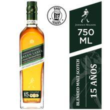 Whisky Johnnie Walker Green Label Botella 750M...