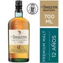 Whisky The Singleton 12 Años Botella 700Ml