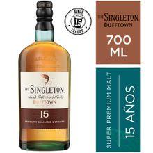 Whisky The Singleton 15 Años Botella 700Ml
