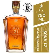 Whisky Johnnie Walker Xr 21 Botella 750Ml