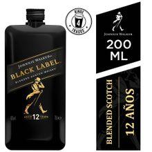 Whisky Johnnie Walker Pocket Black Label Botel...