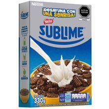 Cereal Nestlé Sublime Chocolate Caja 330G