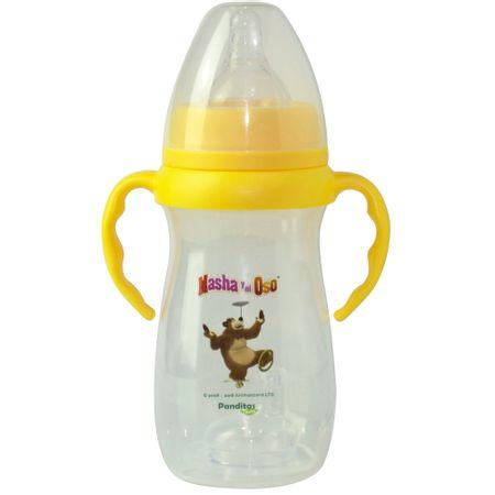 biberon-masha-y-el-oso-boca-ancha-amarillo-10oz
