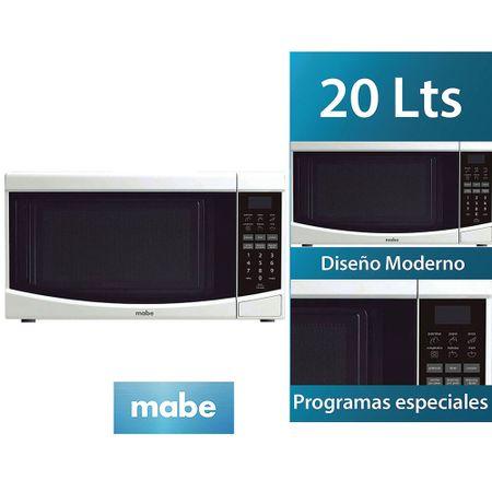 microondas-mabe-20l-hmm20peb-blanco