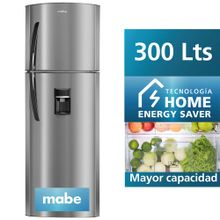 refrigeradora-mabe-300l-rma300fbpu-silver