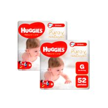 panales-para-bebe-huggies-puro-y-natural-talla-g-paquete-52un-pack-2un