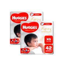 panales-para-bebe-huggies-puro-y-natural-talla-xg-paquete-42un-pack-2un