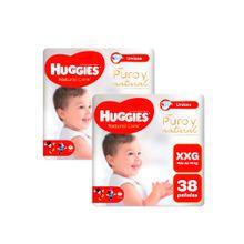 panales-para-bebe-huggies--puro-y-natural-talla-xxg-paquete-38un-pack-2un