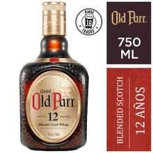 Whisky Grand Old Parr 12 Años Extra Rich Botel...