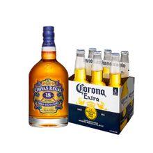 pack-chivas-regal-whisky-18-años-botella-750ml-cerveza-corona-extra-6-pack-botella-355ml